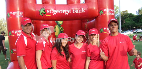 Jumbo Events - St George Bank Crew