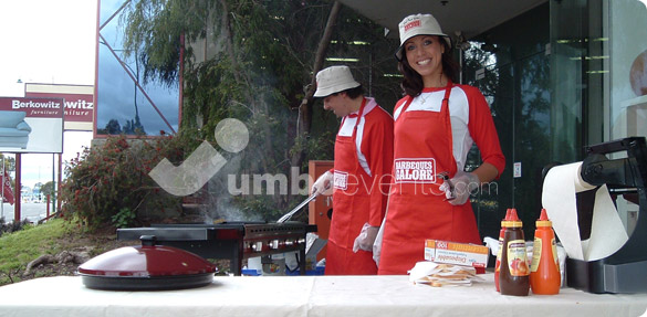 Jumbo Events - BBQ's Galore Sausage Sizzle